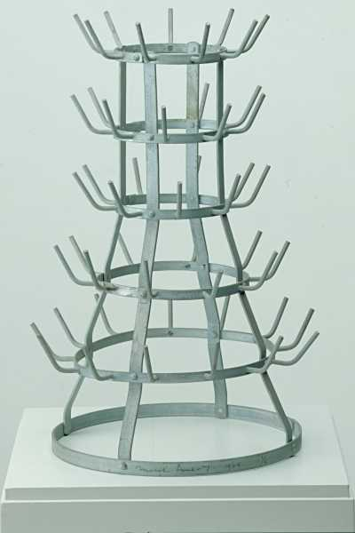M. Duchamp, Bottle Dryer 1914-1964